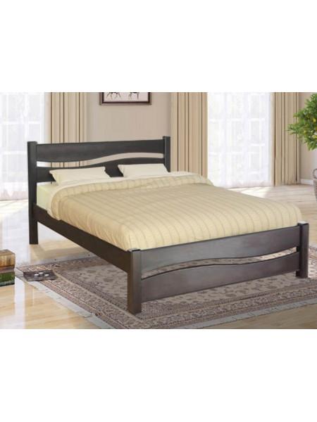 Кровать Волна из натурального массива дерева